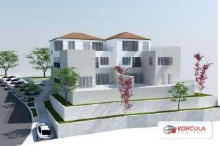 Zemljište u blizini mora, s projektom izgradnje