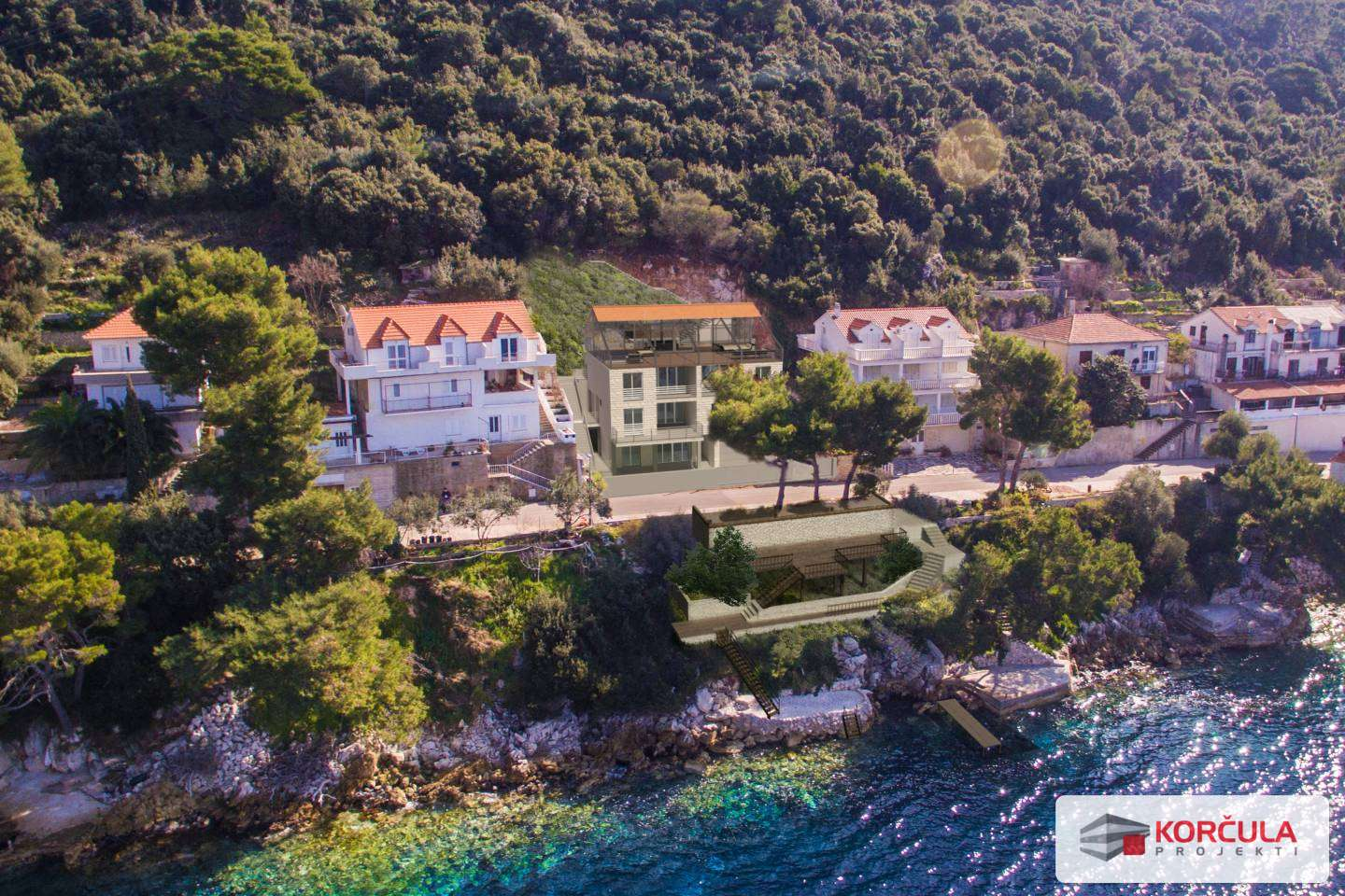 An excellent investment on Lastovo island (building project)