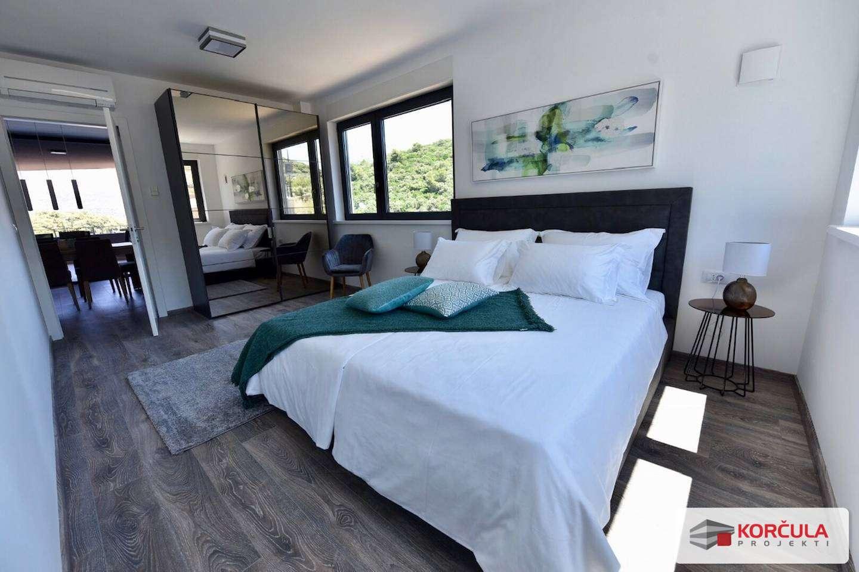 Luxury apartment on Korčula Hill