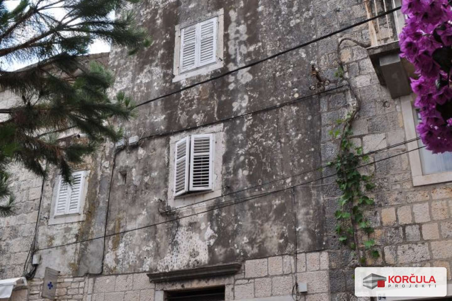 Apartment in the very center of Korčula town