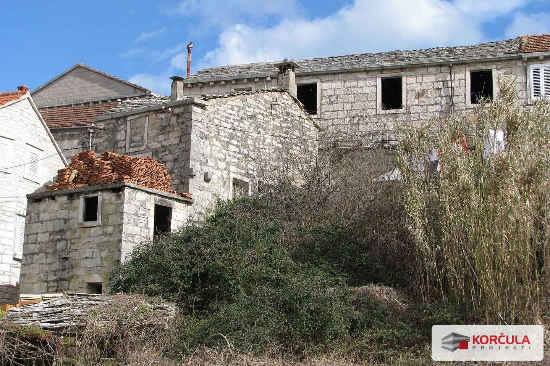 Stone history of the island Korcula