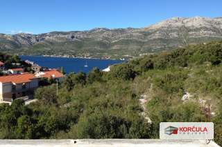 Land with a beautiful view of the Korčula-Pelješac see channel