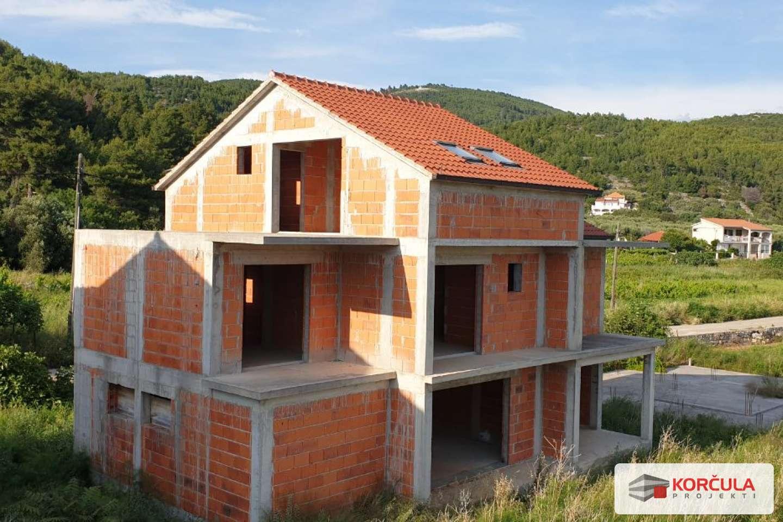Kuće s pogledom na more – južna obala otoka Korčule