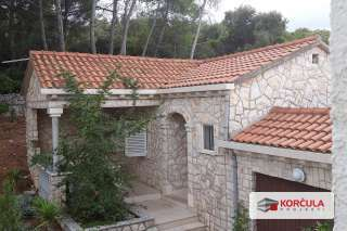 Stone house near the town of Korcula