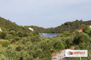 Zemljište na sjevernoj strani otoka okruženo maslinicima