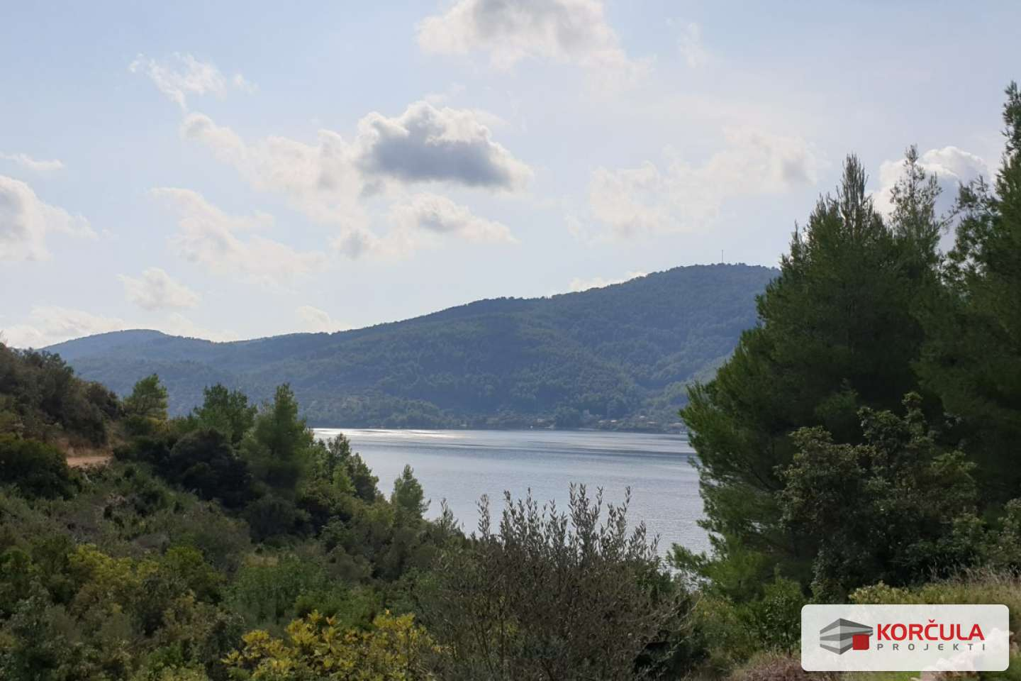 Land on a hillside with panoramic sea view - one of the best real estate deals at the moment