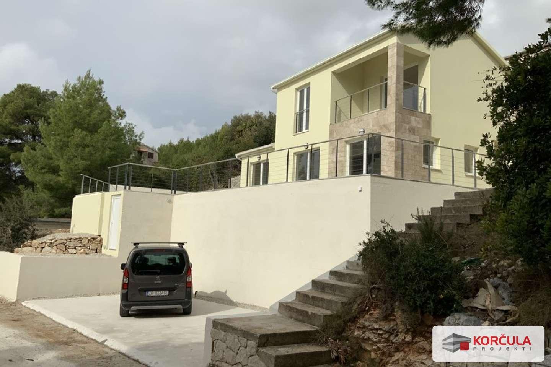 Seaside villa on the southern coast of Korčula island
