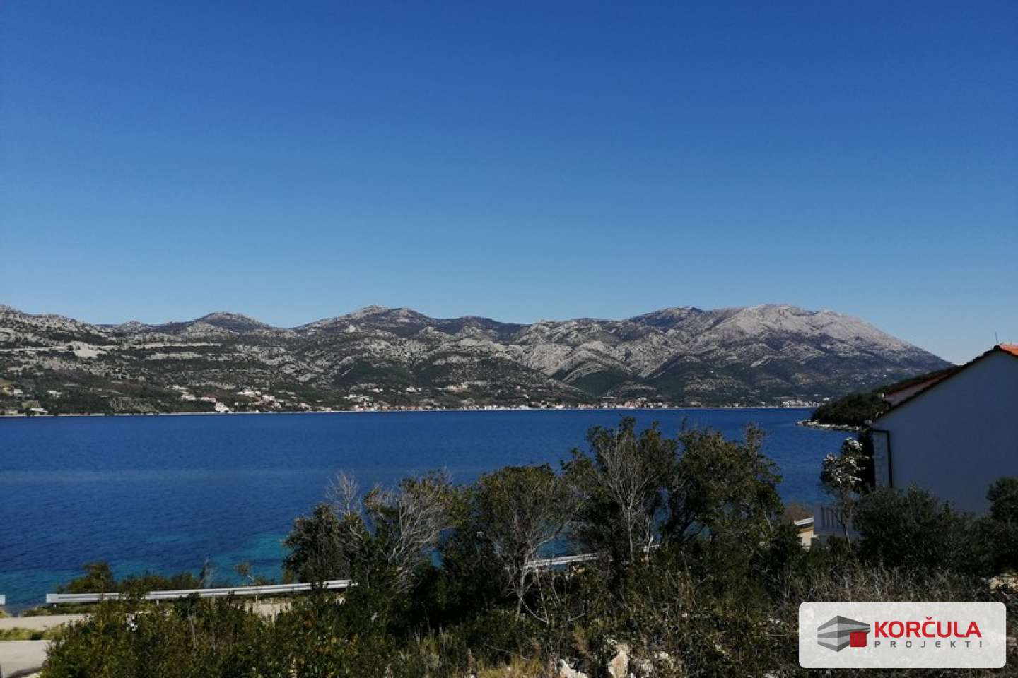 Excellent opportunity: one of the last seaside building plots in Korčula town area