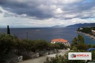 Building land with sea view - north side of the island of Korcula