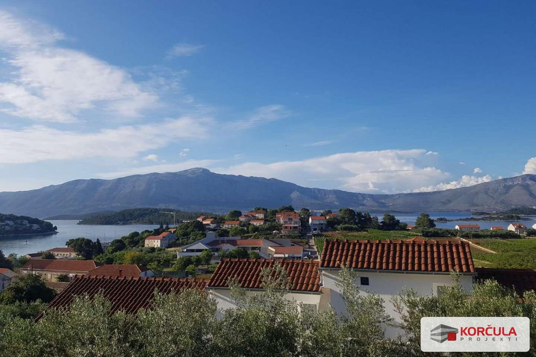 Kuća na odličnoj lokaciji s panoramskim pogledom na vinograde i more