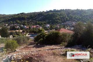 Two building lands in Vela Luka , close proximity to the road, overlooking Vela Luka bay