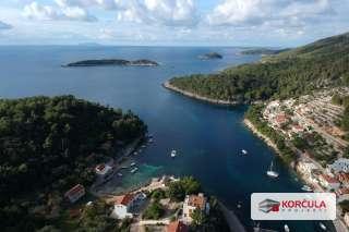 Zemljište na južnoj obali otoka Korčule: odlična pozicija, atraktivna lokacija