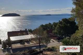 Prostrano građevinsko zemljište, južna rivijera otoka Korčule, rijetka i jedinstvena prilika